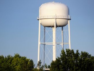 Low water pressure in Wellington water tower too small