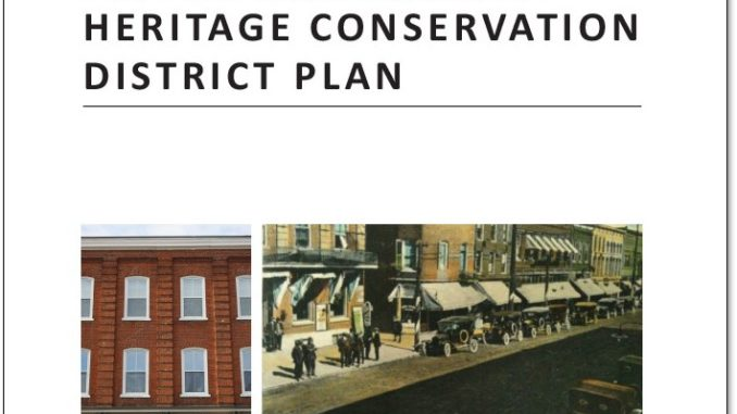 Picton Heritage District Conservation Plan