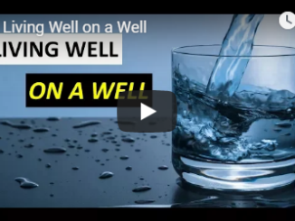 This video explains the ins and outs of living well on a well.