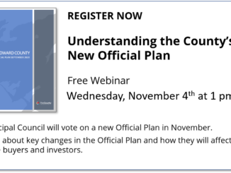 Image promotes free webinar to learn about County's new Official Plan on Wednesday, November 4th at 1 pm.